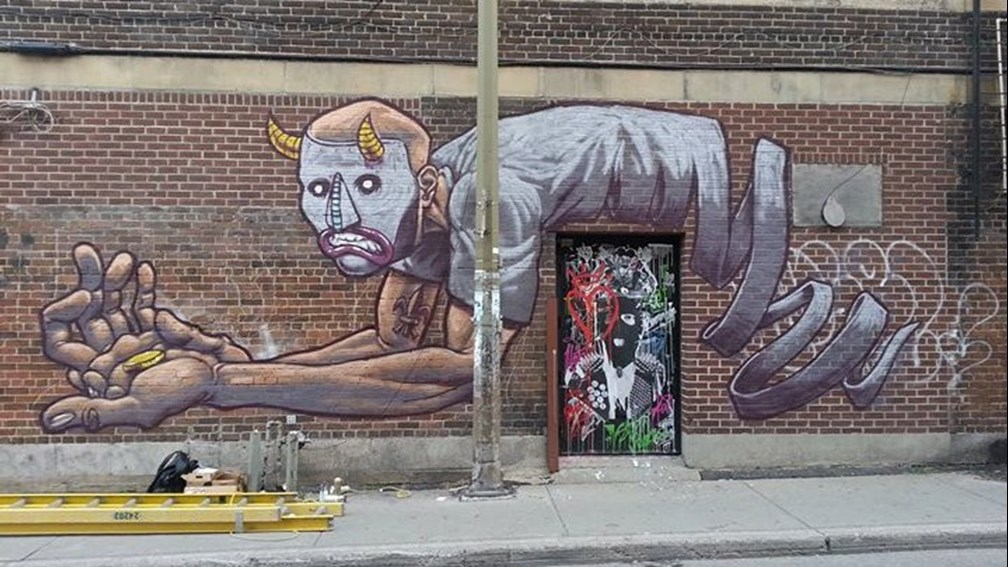 via Street Art in Montreal sur Facebook. https://www.facebook.com/StreetArtInMontreal