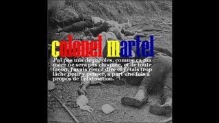 Colonel Martel-Something's wrong, not quite right
