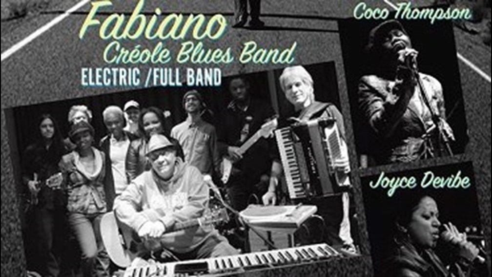 Fabiano & Créole Blues Band spectacle 3 Juillet 2015 à l'Assomoir