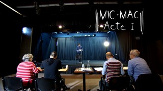 Mic-Mac, acte I | Les auditions