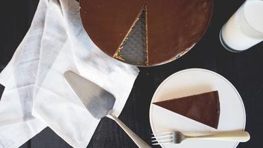 Tarte choco-amandes sans cuisson et sans tracas