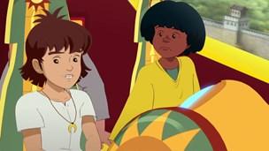 Esteban, Tao et Zia captifs!
