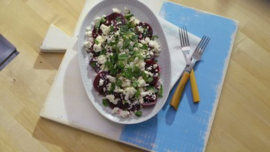 Salade de betteraves et de feta