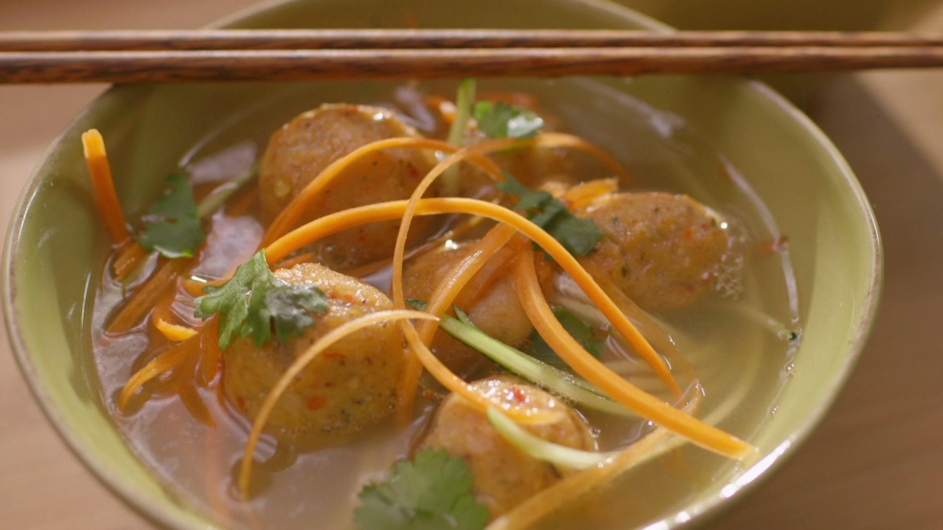 Boulettes de poisson l 39 asiatique cuisine fut e for Asiatique cuisine