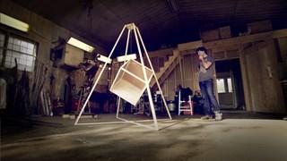 Matthieu Binette sculpte... Le cube - Face 1