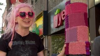 Projet 140 - Karine Fournier : Une « Ville-Laine » tricoteuse