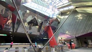 L'art prend le métro - Peter Gnass anime la station LaSalle