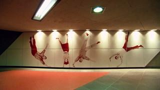 L'art prend le métro - Les passagers volants