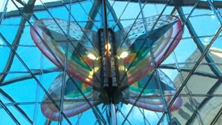 L'art prend le métro - Métamorphose d'Icare