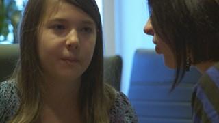 Olivia Gagnon rencontre l'auteure Amy Lachapelle