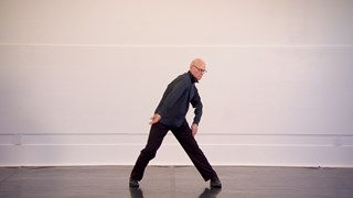 Paul-André Fortier, danseur d'âge mûr