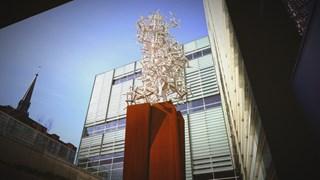 Jean-Pierre Morin : Espace fractal à la Grande Bibliothèque