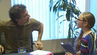 Franny Privé rencontre l'auteur et illustrateur Bruno St-Aubin