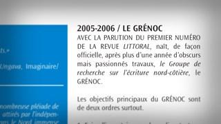Le GRÉNOC : Comprendre la Côte-Nord par l'écrit