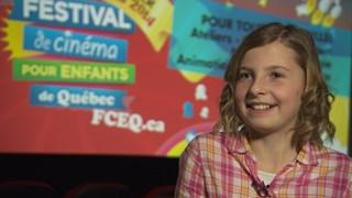 Anne-Catherine L'Heureux : scriptrice au cinéma à 11 ans!