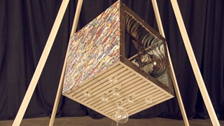 Les artistes dévoilent Le cube... - Face 7