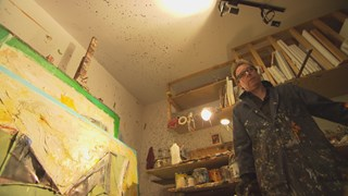 Les confidences de Jean Gaudreau dans son atelier