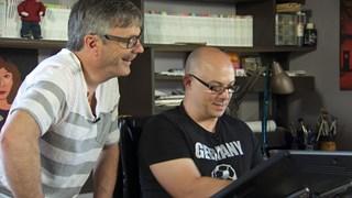 Alain M. Bergeron et Sampar, complices de la littérature jeunesse
