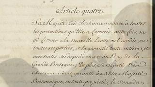 Le traité de Paris prolonge son séjour à Québec