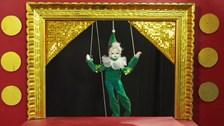 Mario la marionette en studio