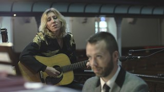 Martha Wainwright et l'organiste Jean-Willy Kunz