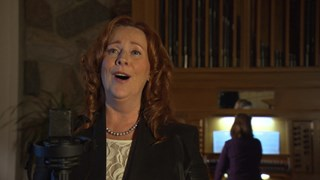 Gesù Bambino chanté par la soliste Lucie Gendron