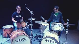 Amitié, drums et scotch!