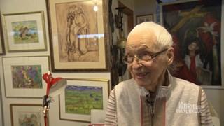 Julie D. Vaillancourt, 91 ans, artiste dans l'âme!