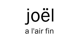 Humains de REGARD | Joël