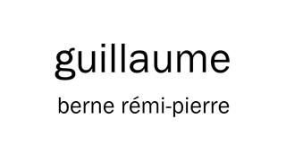 Humains de REGARD | Guillaume