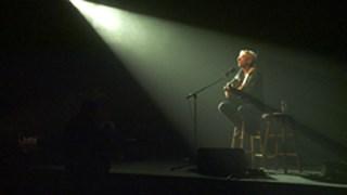 Richard Desjardins en spectacle, chez lui, à Rouyn-Noranda