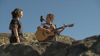 Sarah Cochrane au Cap d'Ours de Rouyn-Noranda