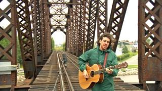 Jesse Mac Cormack au pont de fer