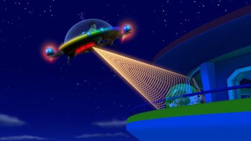 La Pat'patrouille et l'extraterrestre / La grenouille qui vole