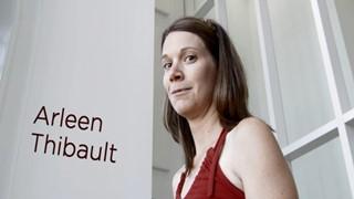 Inauguration de la Maison de la littérature : Arleen Thibault