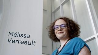 Inauguration de la Maison de la littérature : Mélissa Verreault