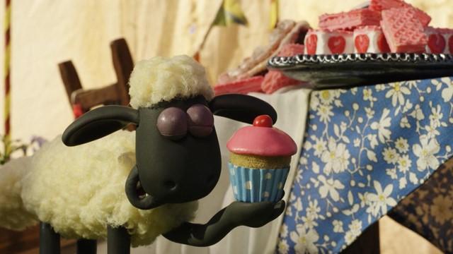 Shaun le mouton — Les lamas du fermier