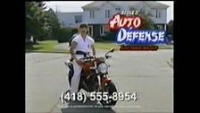 Cours de moto défense