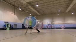 Défi soccer bulle