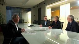 Table ronde avec des maires