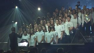 Le chœur de Louis-Jean Cormier