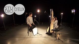 STUDIO D'EUX | Yann Perreau et la harpe de Valérie Milot