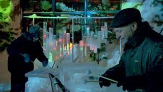 Orchestre de glace | sons d'hiver de la Flashe fête d'Alma