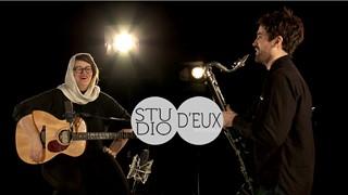 STUDIO D'EUX   Safia Nolin et la clarinette basse de Philippe Lauzier