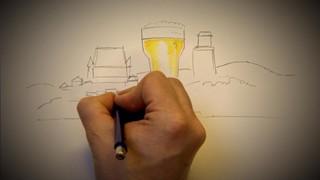 Dessine-moi une histoire : Brasser de la bière à Québec