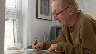 Michel Villeneuve, l'artiste du détail
