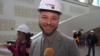 Pierre Lapointe, porte-parole du pavillon Pierre Lassonde