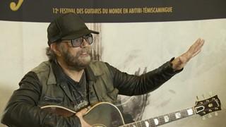 Daniel Lanois au Festival des guitares | Rencontre avec une légende