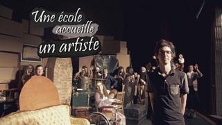 Une école accueille un artiste | Un auteur, 40 acteurs