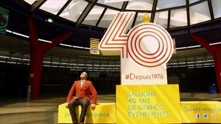 Parc olympique   40 ans